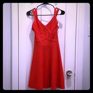 Red Guess A-Line cocktail party dress